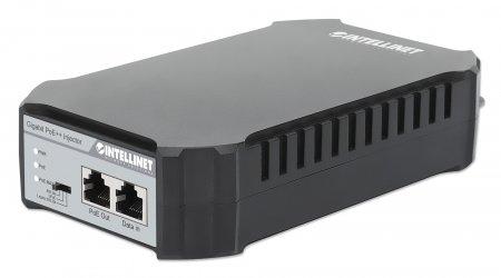 Gigabit Ultra PoE-Injektor INTELLINET 1 x 95 Watt-Port, IEEE 802.3bt und IEEE 802.3at/af-konform, Kunststoffgehäuse