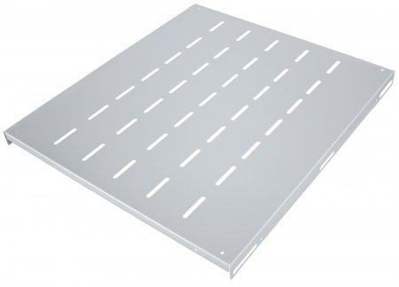 "19"" Fixed Shelf - , 1U, 345 mm Depth, Gray"