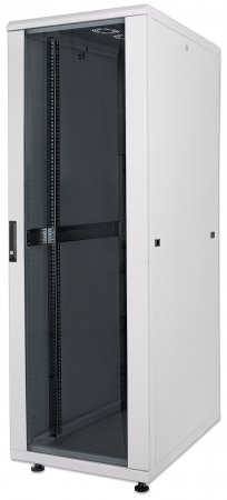 19'' Netzwerkschrank INTELLINET 26 HE, 1322 (H) x 600 (B) x 800 (T) mm, Schutzklasse IP20, Flatpack, grau