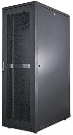 "19"" Server Cabinet - , 42U, IP20-rated housing, Flatpack, Black"