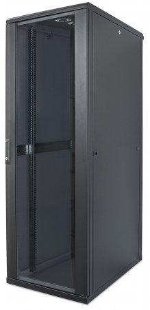 19'' Netzwerkschrank INTELLINET 26 HE, 1322 (H) x 600 (B) x 800 (T) mm, Schutzklasse IP20, vollständig montiert, schwarz