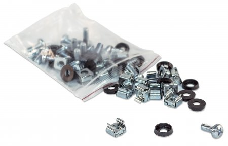Cage Nut Set - , 100 pieces