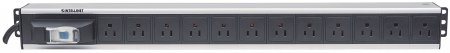 Vertical Rackmount 12-Output Power Distribution Unit (PDU)