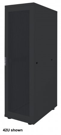 19'' Serverschrank, Basic Line INTELLINET 42 HE, Flatpack, 2033 (H) x 600 (B) x 1000 (T) mm, schwarz
