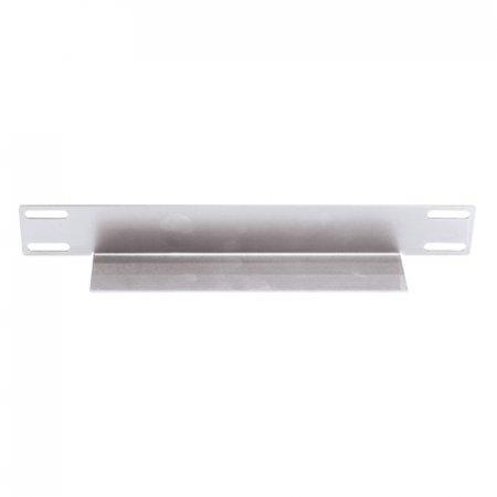 Gleitschienen für 19''-Schränke INTELLINET Einbauhilfe und Stützträger für Schränke mit 800 mm Tiefe, 2-teiliges Set, L-Form, silber