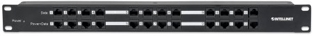 12 Port Passive PoE Patch Panel