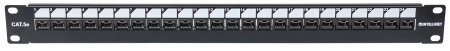 "Locking 19"" Cat5e Unshielded Patch Panel"