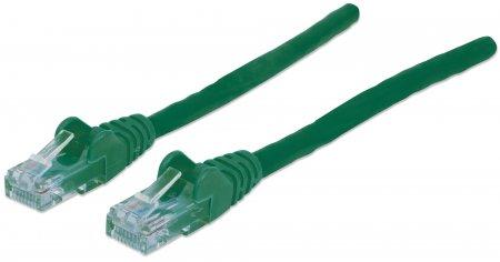 Netzwerkkabel, Cat6, U/UTP INTELLINET CCA, Cat6-kompatibel, RJ45-Stecker/RJ45-Stecker, 20,0 m, grün