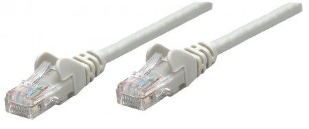 Premium Netzwerkkabel, Cat6a, S/FTP INTELLINET 100% Kupfer, Cat6a-zertifiziert, LS0H, RJ45-Stecker/RJ45-Stecker, 50,0 m, grau
