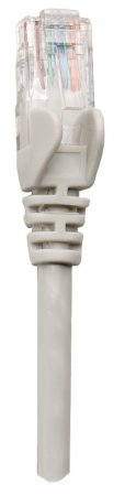 Netzwerkkabel, Cat5e, U/UTP INTELLINET CCA, Cat5e-kompatibel, RJ45-Stecker/RJ45-Stecker, 0,25 m, grau