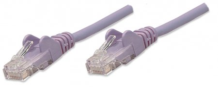 Network Cable, Cat5e, UTP - , RJ-45 Male / RJ-45 Male, 0.6 m (2 ft.), Purple