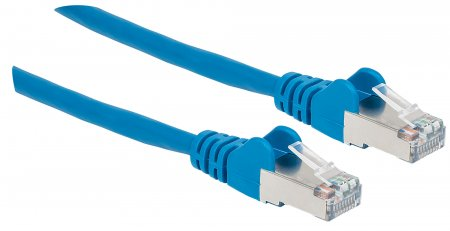 Cat6a S/FTP Patch Cable, 25 ft., Blue