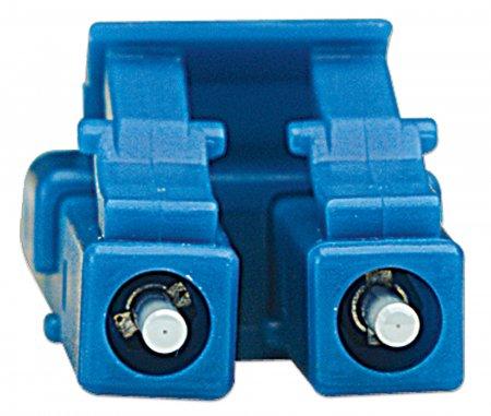 Glasfaser LWL-Anschlusskabel, Duplex, Singlemode INTELLINET LC/LC, 9/125 µm, OS2, 20 m, gelb