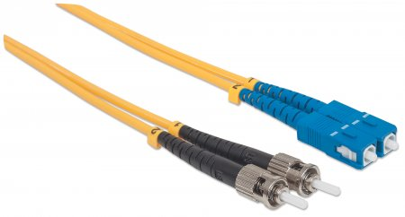 Fiber Optic Patch Cable, Duplex, Single-Mode