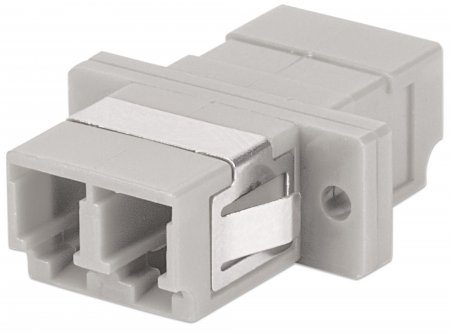 Multimode Duplex LC Adapter - , LC Adapter, Multimode Duplex, Zirconia Sleeve, Beige