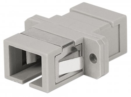 Multimode Simplex SC Adapter - , SC Adapter, Multimode Simplex, Zirconia Sleeve, Beige
