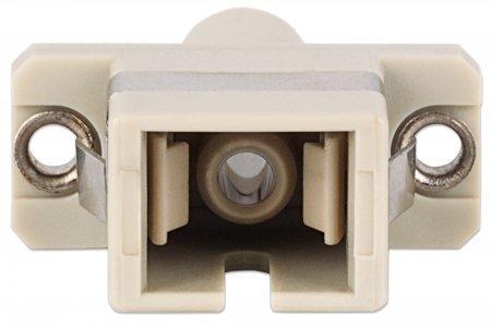 Hybrid SC-ST Multimode Adapter