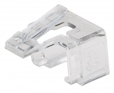50er-Pack RJ45-Reparaturclips INTELLINET Zur Reparatur von RJ45-Modularsteckern, transparent, 50 Stück