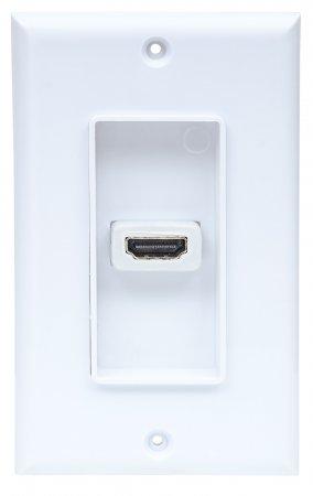 One-Port HDMI Wallplate
