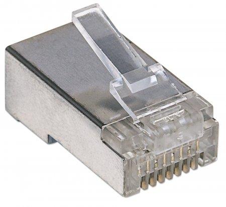 100er-Pack Cat5e RJ45-Modularstecker Pro Line INTELLINET 790529 (BILD2)