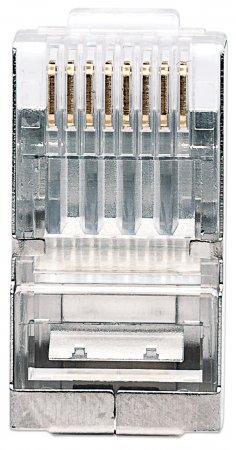 100er-Pack Cat5e RJ45-Modularstecker Pro Line INTELLINET 790529 (BILD3)