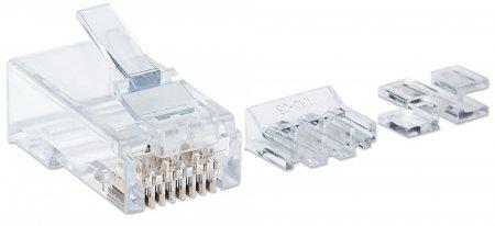 80er-Pack Cat6A RJ45-Modularstecker INTELLINET UTP, für 790666 (BILD2)
