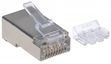 90er-Pack Cat6A RJ45-Modularstecker INTELLINET STP, für 790697 (BILD2)
