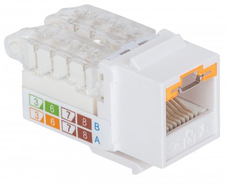 Locking Cat5e Keystone Jack