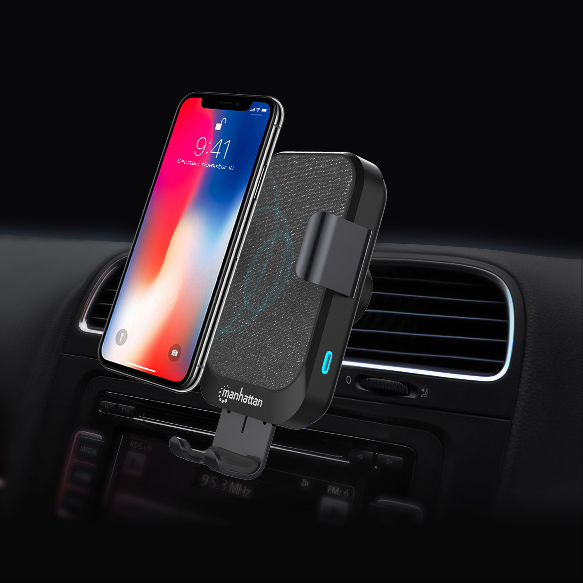 Fast-Wireless Charger for Car - 10 W