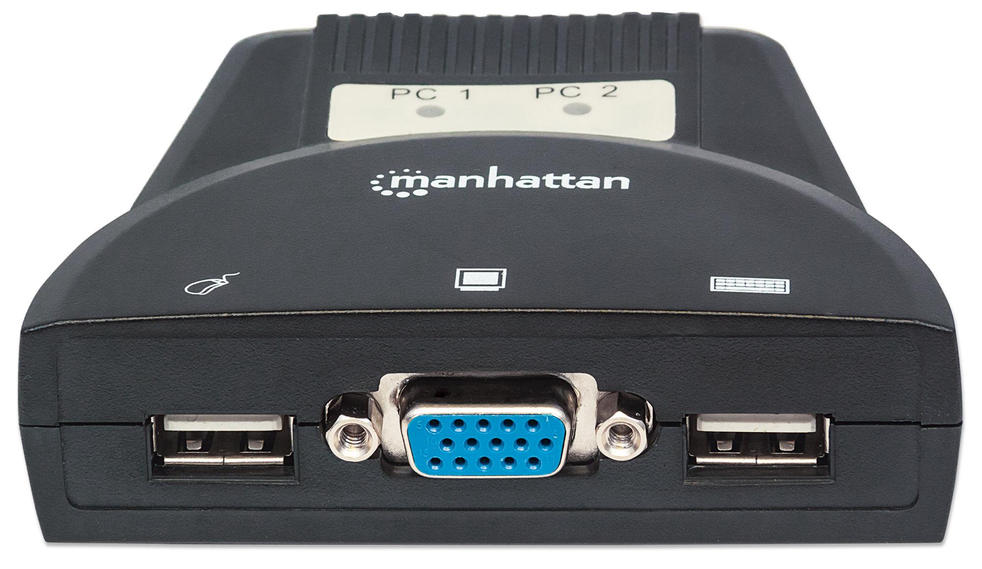 2-Port Mini KVM Switch