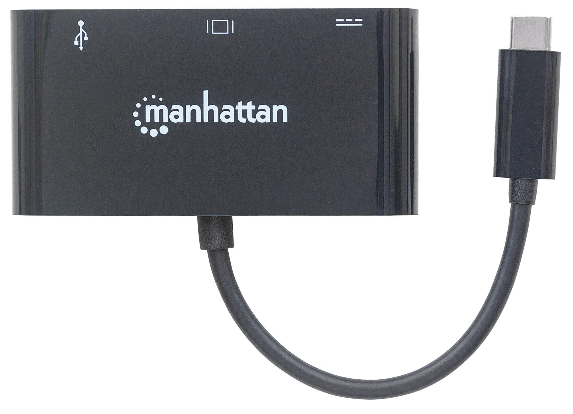 SuperSpeed USB-C VGA Docking Converter