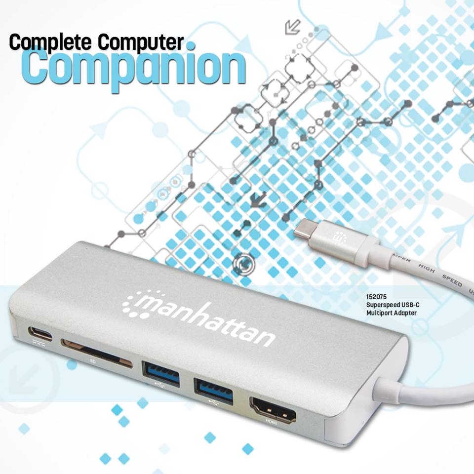SuperSpeed USB-C Multiport Adapter