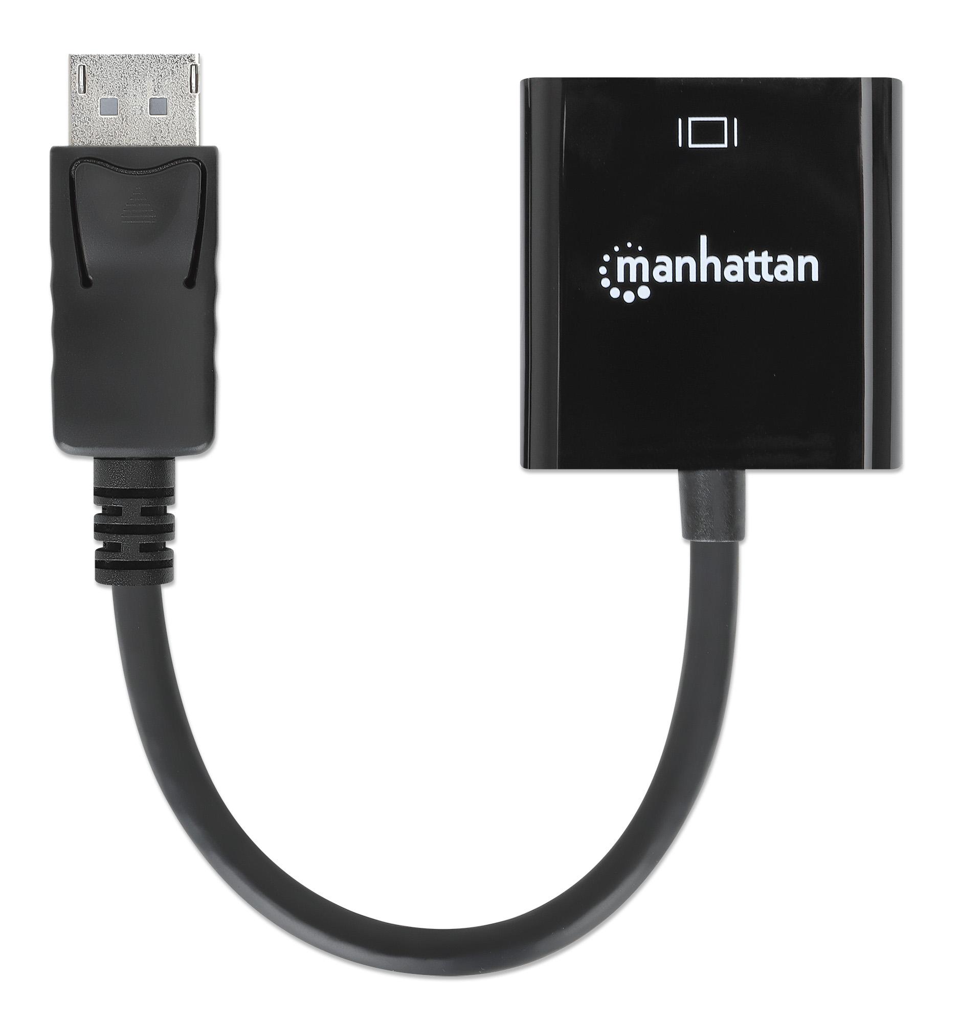 DisplayPort 1.2a to DVI-D Adapter
