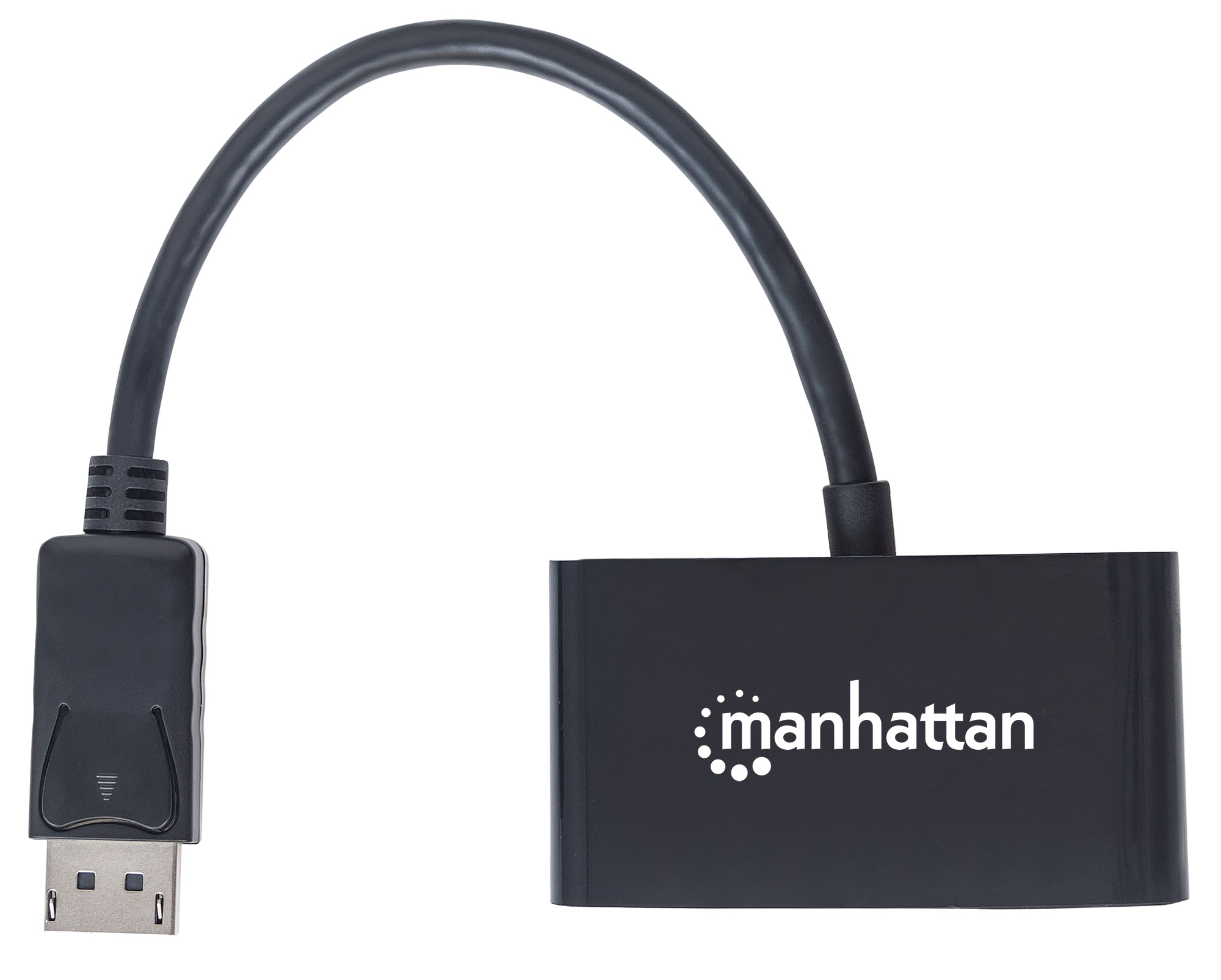 2-in-1 4K DisplayPort Adapter