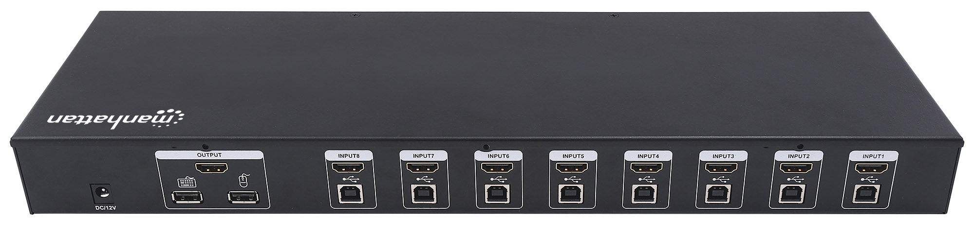 8-Port HDMI KVM Switch