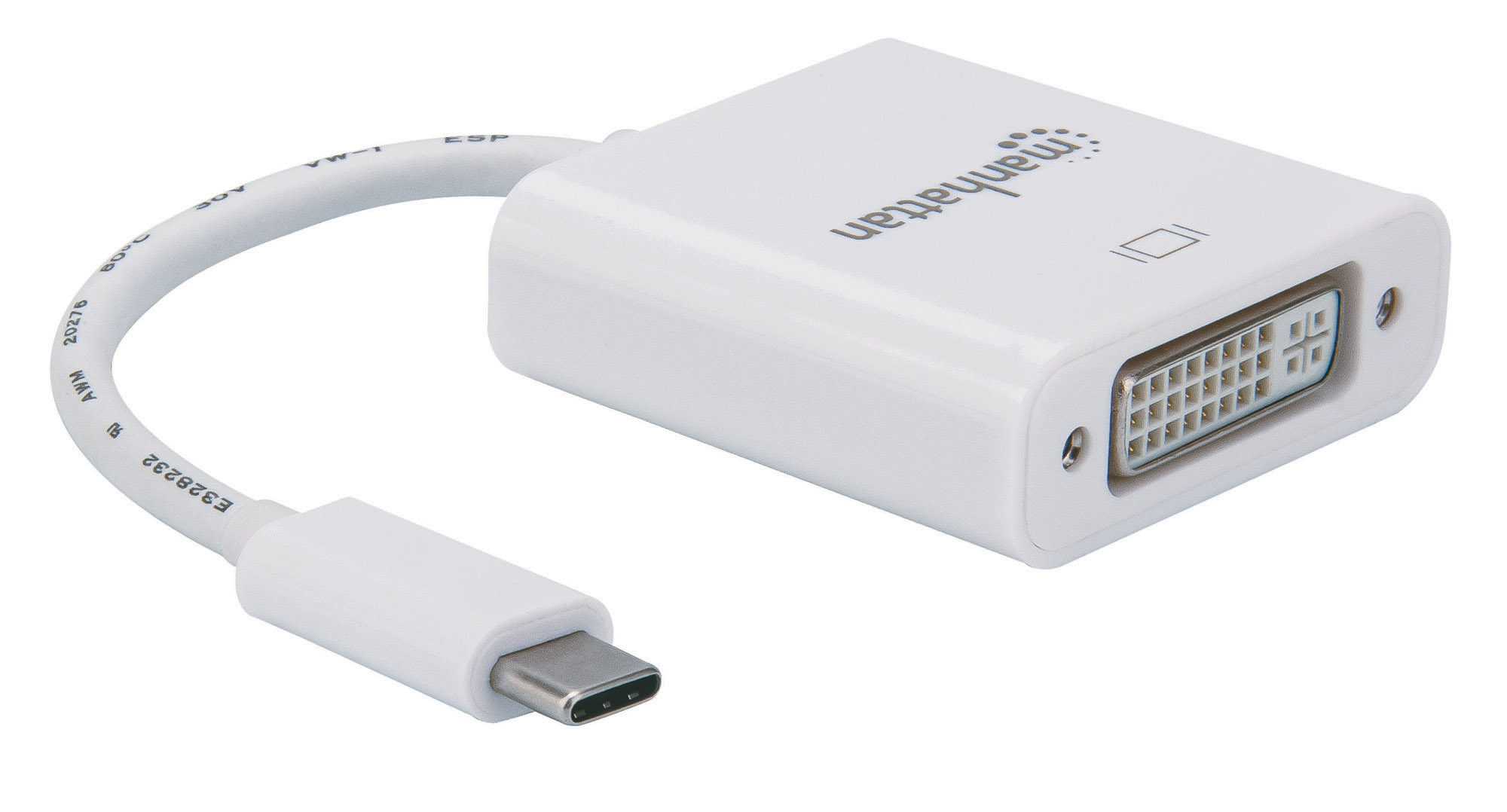 SuperSpeed+ USB-C to DVI Converter