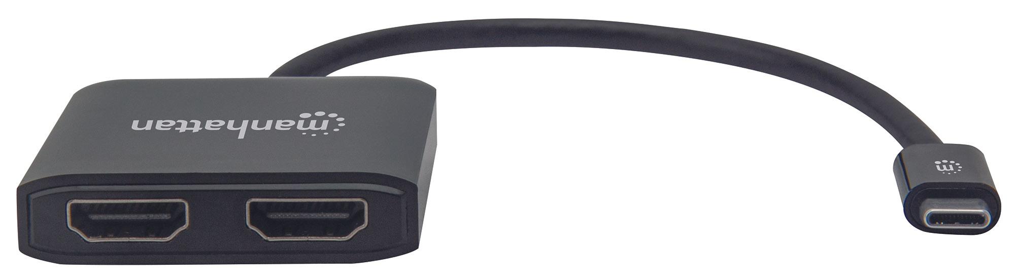 USB-C to Dual HDMI Converter - MST Hub