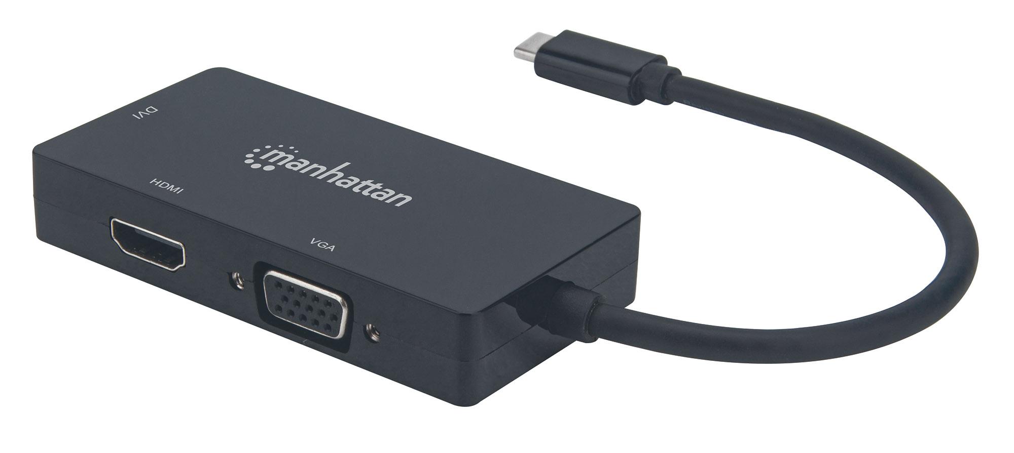 USB-C 3-in-1 Multiport A/V Converter
