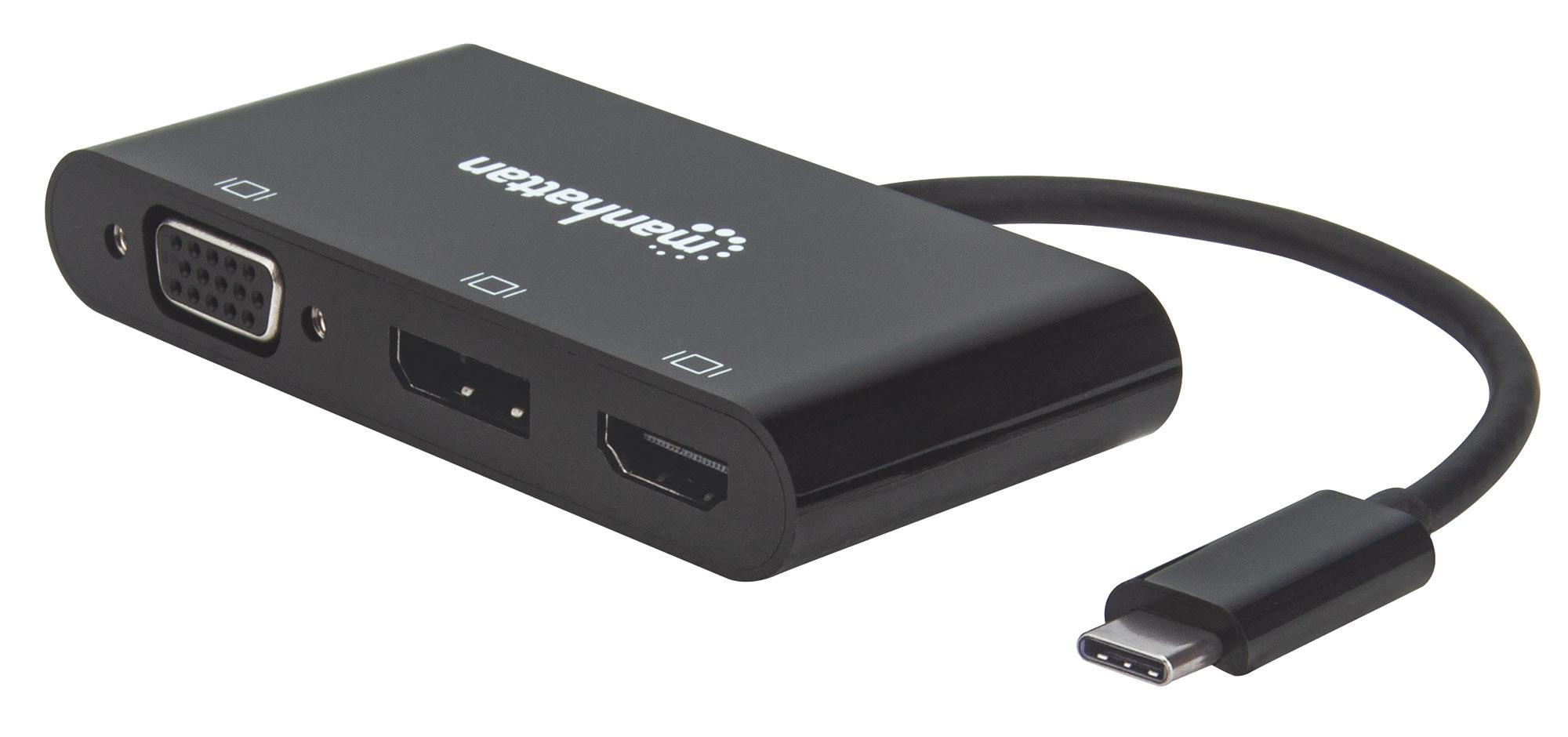 USB-C to Multiport A/V Converter - MST Hub
