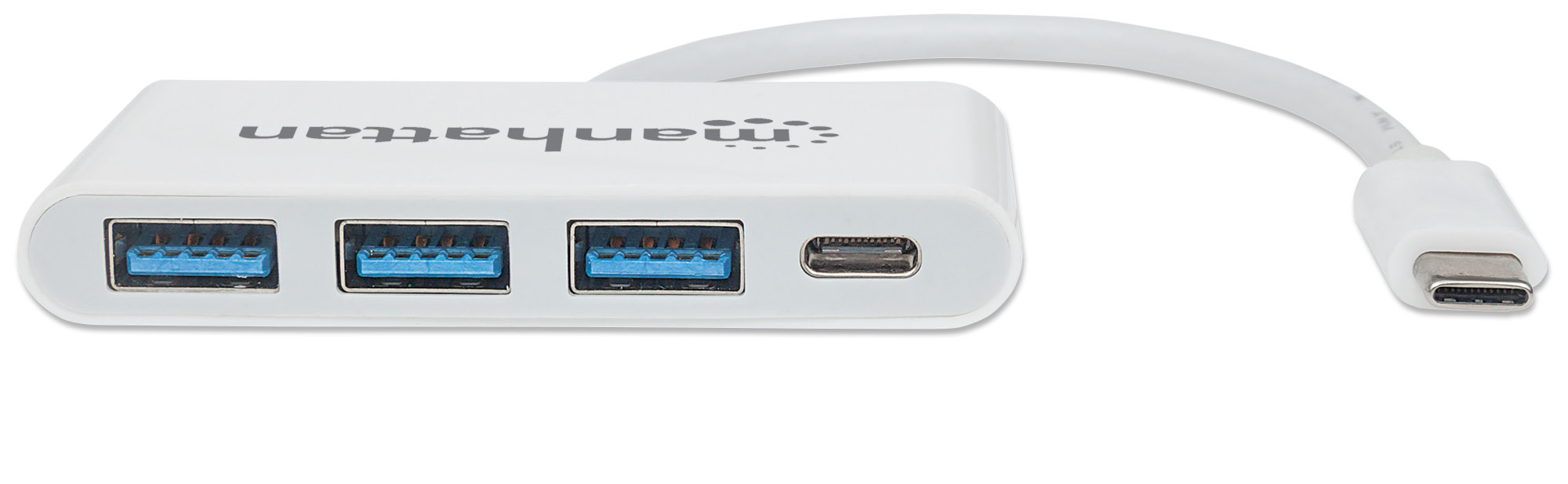 USB 3.2 Gen 1 Type-C 3-Port Hub with Power Delivery
