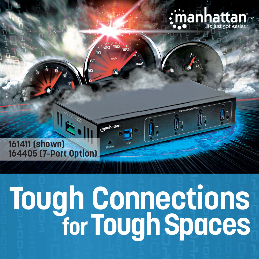 7-Port Industrial USB 3.0 Hub
