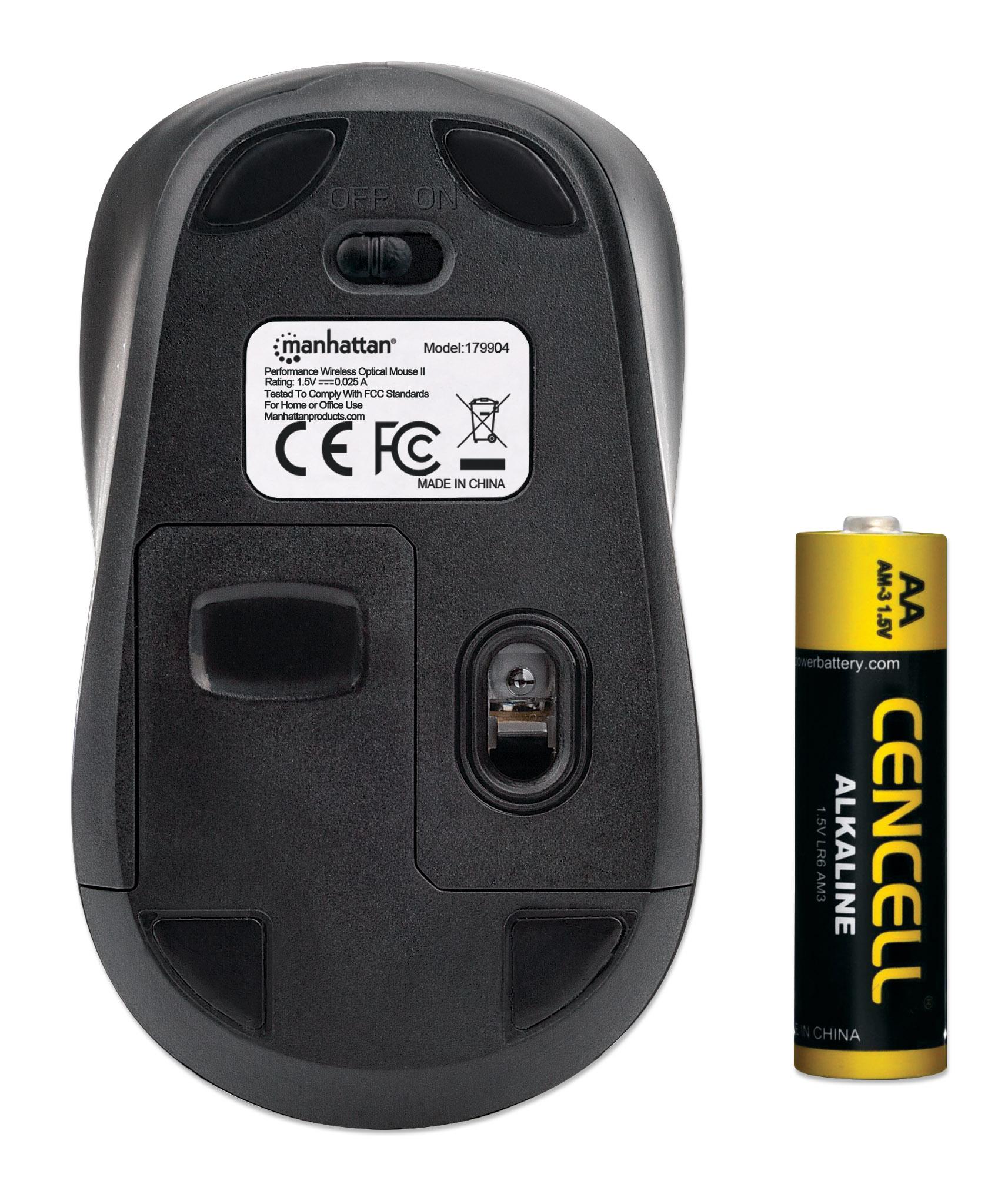 Performance Wireless Optical Mouse II