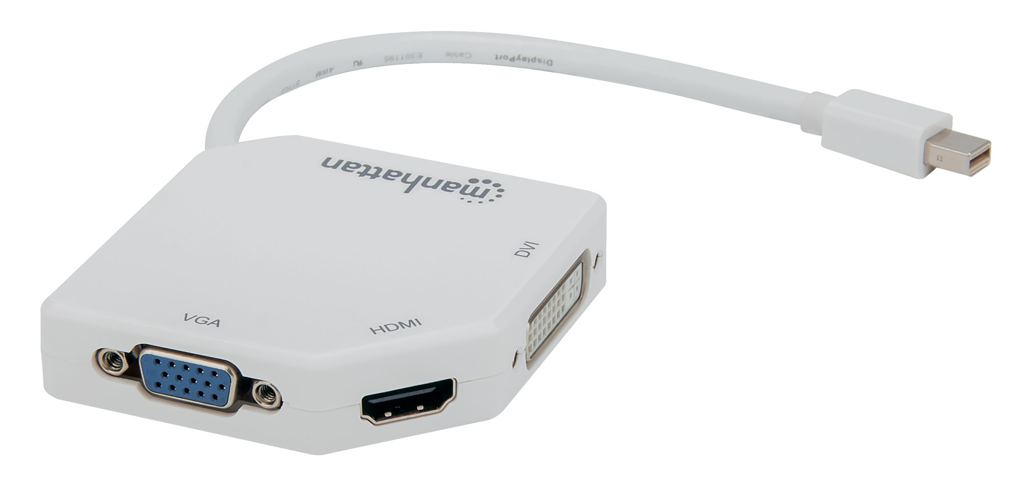 3-in-1 4K Mini DisplayPort Adapter