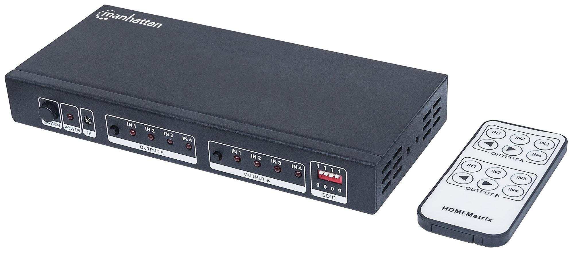 4K 4x2 HDMI Matrix