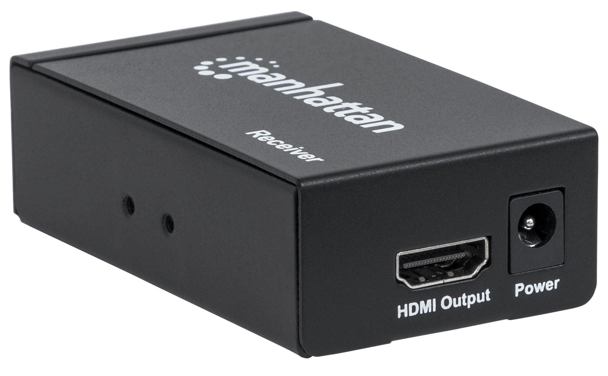 Receiver for 1080p 4-Port HDMI Extending Splitter Transmitter