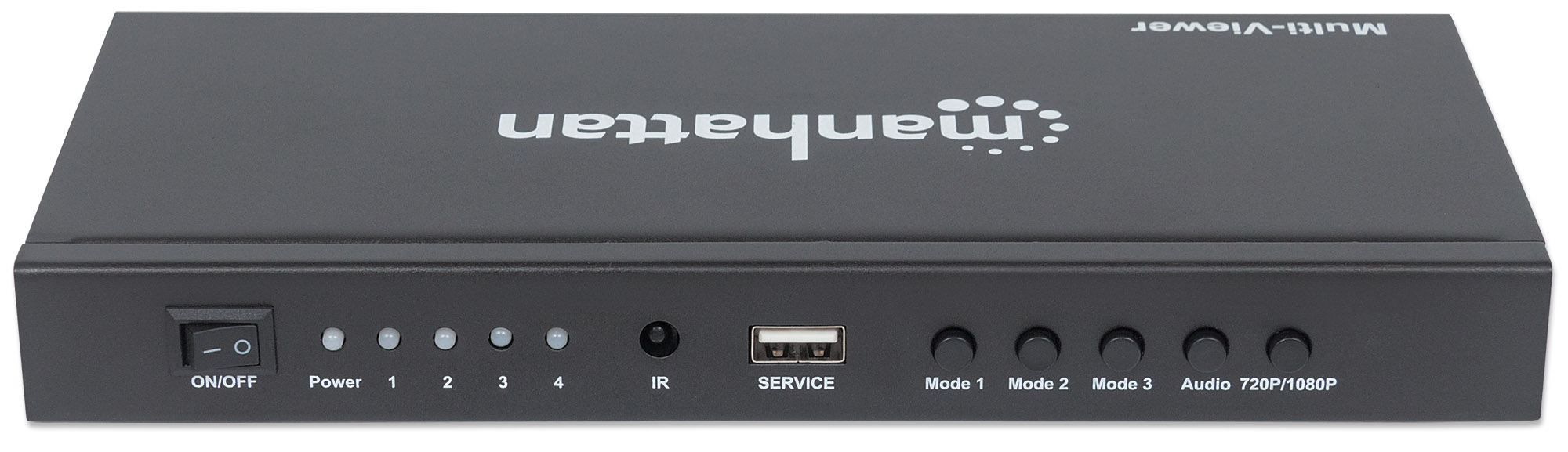 1080p 4-Port HDMI Multiviewer Switch