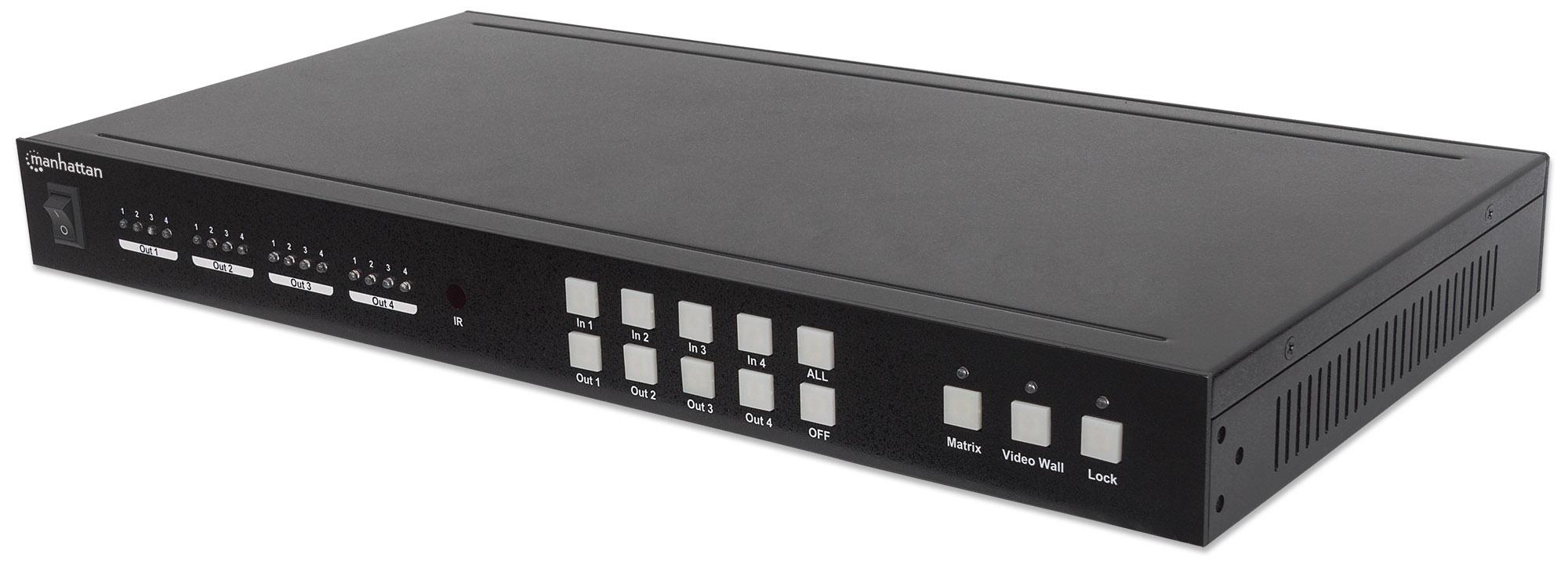 1080p 4-Display HDMI Video Wall Matrix