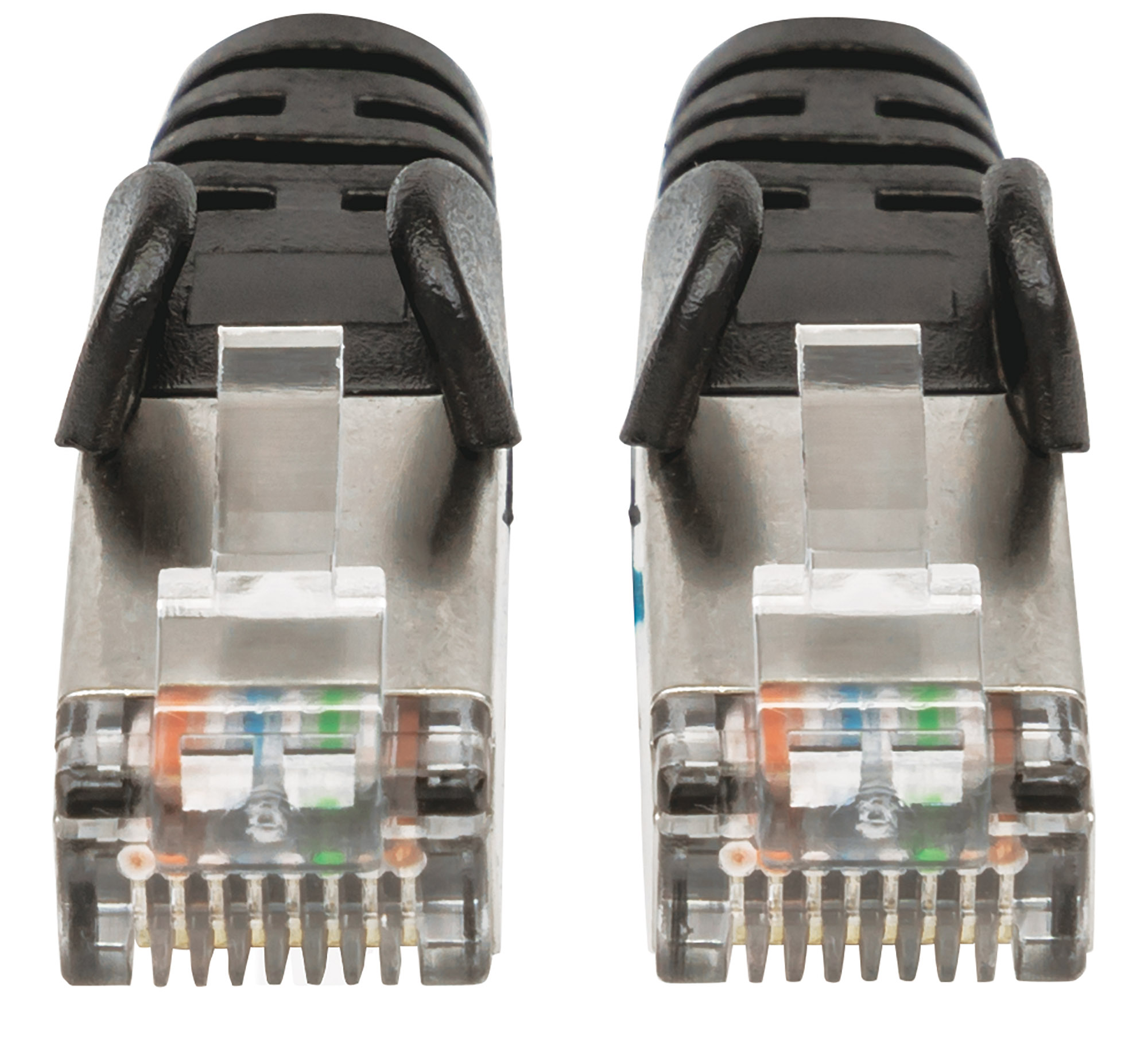 Cat6a S/FTP Patch Cable, 1 ft., Black