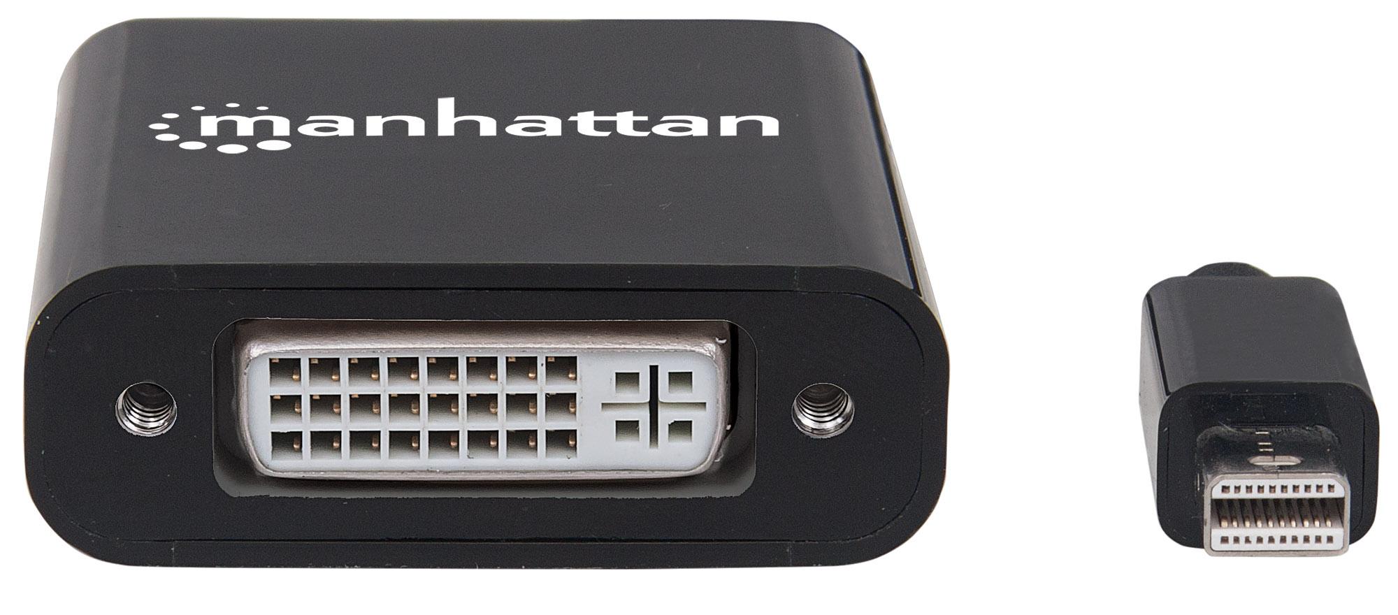 Passive Mini DisplayPort to DVI Adapter