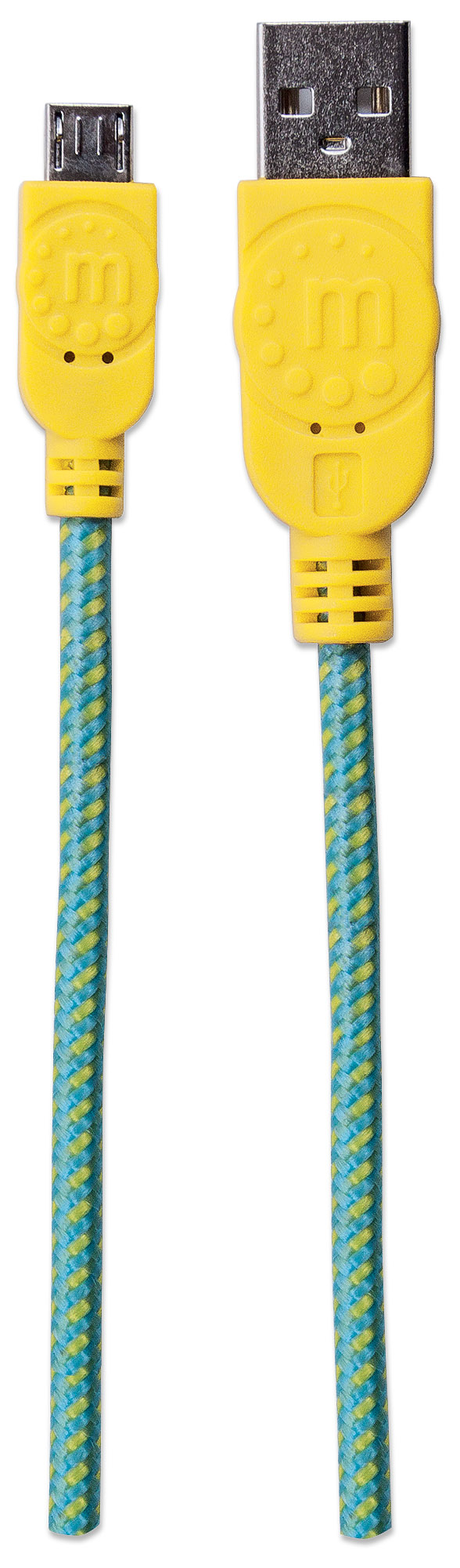 Braided Hi-Speed USB Micro-B Device Cable